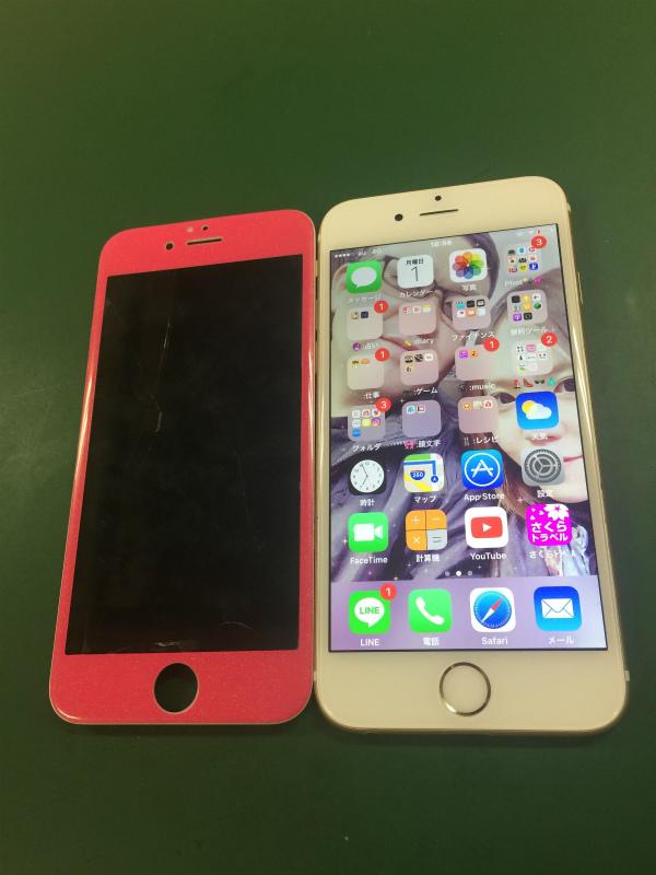 iphone6s 画面割れ 交換